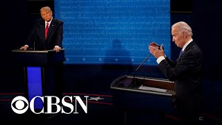 Breaking down key moments from the final presidential debate