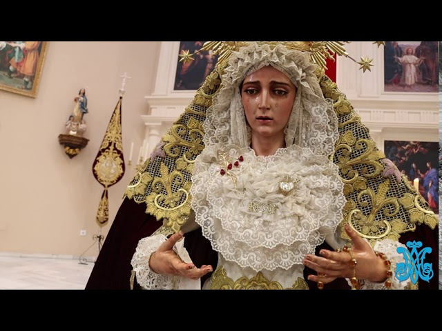 LA LINEA COFRADE. ROSARIO VIRGEN DEL AMOR, PARROQUIA SAN JOSÉ, OCTUBRE DE 2020