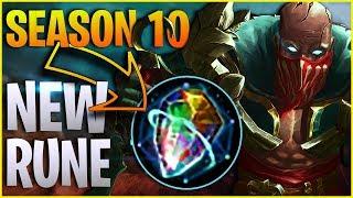 NEW Support PYKE Omnistone Rune NEW Build in Season 10 - League of Legends