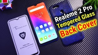 Best Tempered Glass & Back Cover for Realme 2 Pro | Data Dock