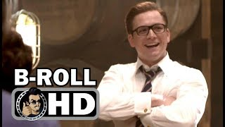 KINGSMAN 2: THE GOLDEN CIRCLE B-Roll Bloopers Gag Reel (2017) Action Spy Movie HD