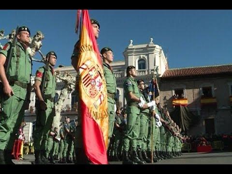 Multitudinaria jura de bandera en Alcalá de Henares