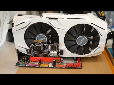 РЕМОНТ ASUS DUAL GTX 1060, ищем неисправную банку памяти тепловизором)