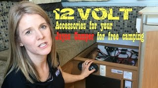 12 Volt Accessories for Jayco Caravan & Camper Trailer - Free Camping & Staying Off the Grid