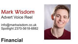 Mark Wisdom - Advert Voiceover Demo Reel