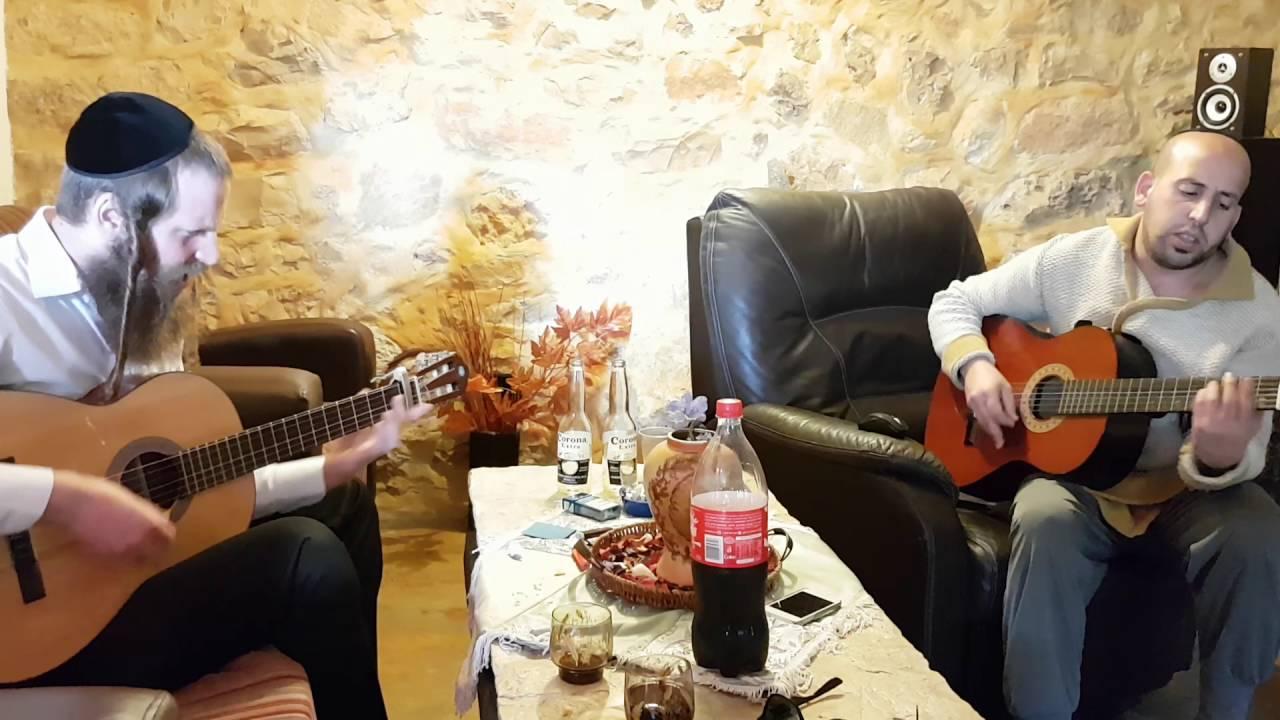 """חיים גולד מנגן עם נתן יפת """"כשאדם יודע"""" ערב ראש השנה תשע""""ז הבעל""""ט-Chaim Gold Keshe'adam Yodea"""