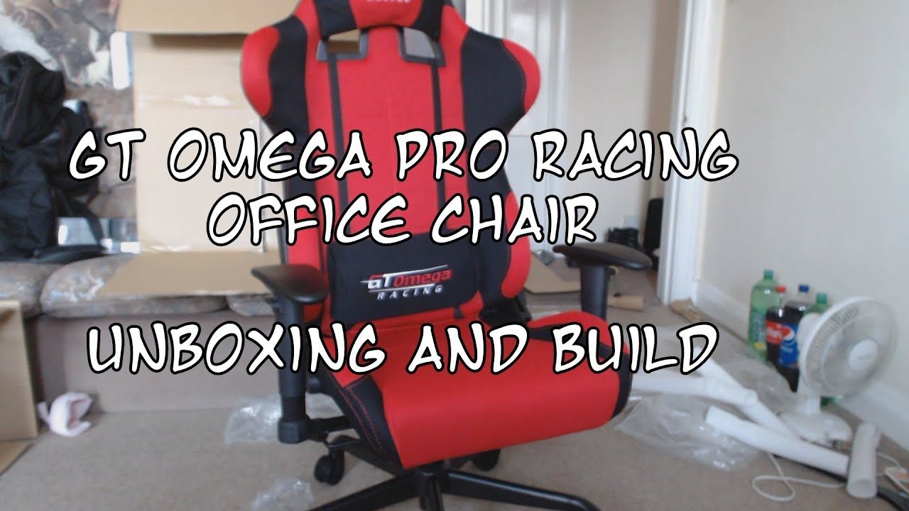 Unboxing My GT Omega PRO Racing fice Chair And Building It