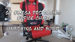 Unboxing My Gt Omega Pro Racing Office Chair.. And Building It..