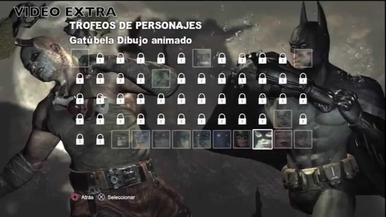 BATMAN ARKHAM CITY TRUCO USAR NUEVOS TRAJES EN TODA LA CAMPAÑA - YouTube