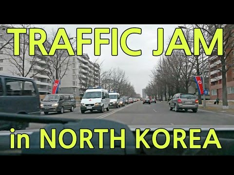 Traffic Jam in North Korea