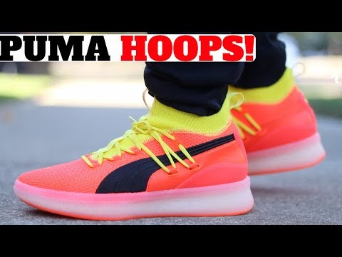 NEW PUMA HOOPS SHOE UNBOXED! FIRST IMPRESSIONS!