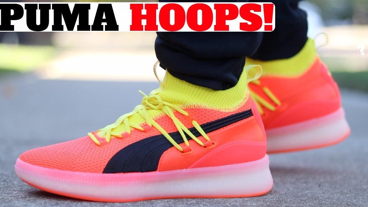 79477a04f88c NEW PUMA HOOPS SHOE UNBOXED! FIRST IMPRESSIONS! - YouTube