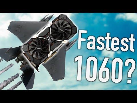 Gigabyte AORUS GTX 1060 The Fastest & Coolest 1060!