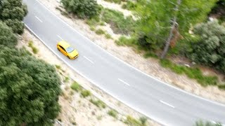 Ford Focus ST Drives along the MA10 Mountain Road, Mallorca