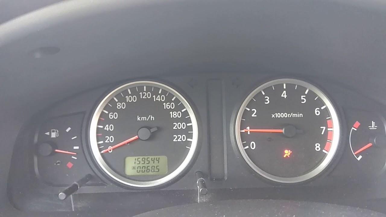 Nissan Almera N16 QG15 rpm problem - YouTube