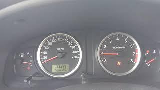 Nissan Almera N16 QG15 rpm problem