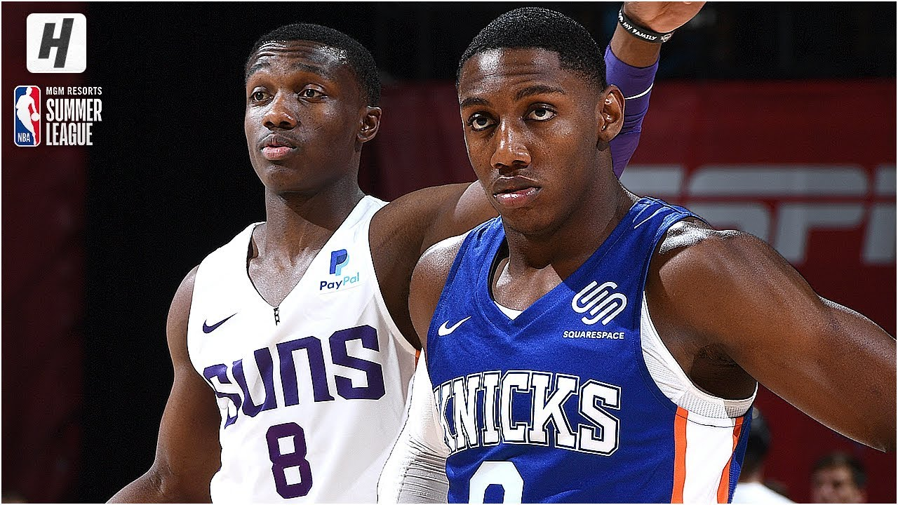 new product 05af4 4c4df New York Knicks vs Phoenix Suns - Full Game Highlights | July 7, 2019 NBA  Summer League