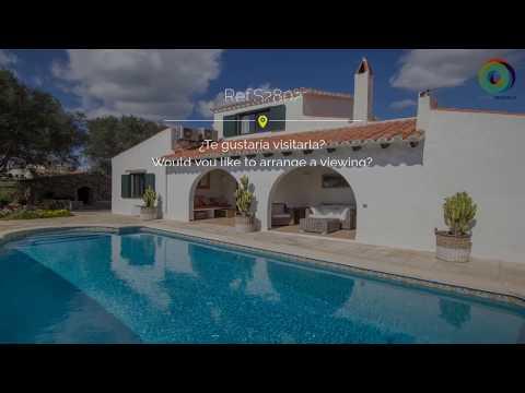Maison de campagne avec piscine à vendre à Trebaluger (zone Es Castell)