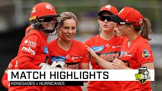 Spinners star as Renegades thump 'Canes | Rebel WBBL|05