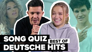 Song Quiz: Deutsche Hits! Erkennst du mehr Songs als Julia Beautx, Nico Santos, Lina, Wincent & Co.?
