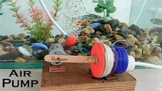How to Make an Air Pump for Aquarium using bottle