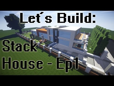 download minecraft let s build stack house frame and exterior