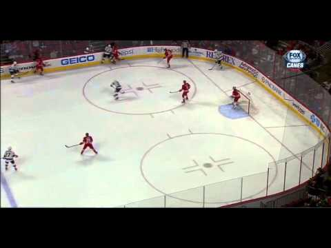 Victor Rask first NHL goal 11/02/14