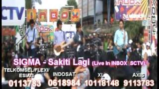 Download lagu SIGMA Sakiti Lagi Live in INBOX SCTV MP3