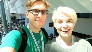 Vidcon 2015 Day 2!   Evan Edinger Vlogs