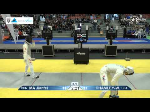 FE M F Team Bonn WC 2016 T08 04 yellow China CHN vs United States USA