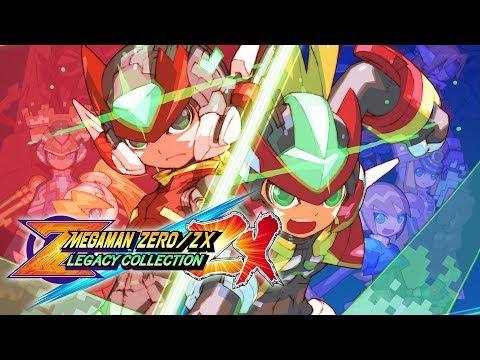 Mega Man Zero/ZX Legacy Collection - Announce Trailer
