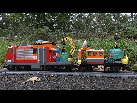 Lego Train 🚂🚃🚃🚃 Custom Expedition Train - #V15P3R LegoTrains #20