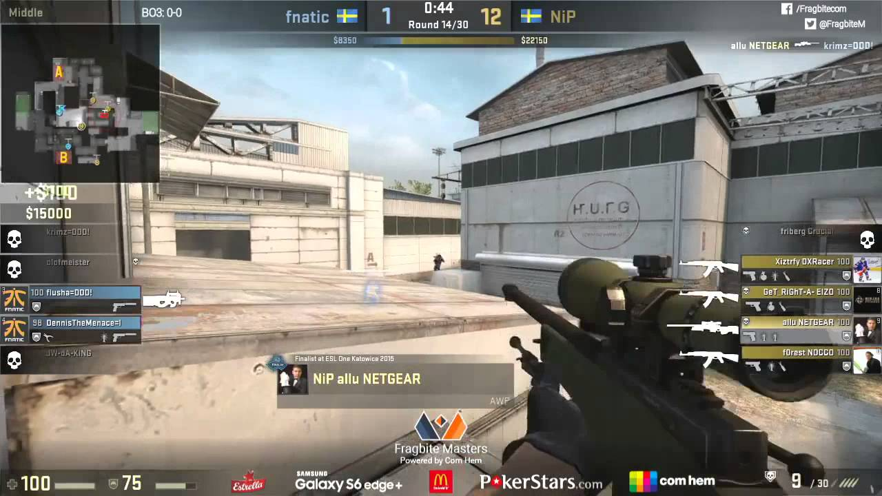 ★Remember Not to Play Cache vs NiP★