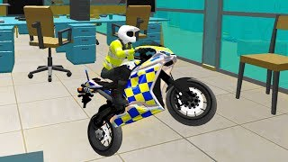 Office Bike Driving Simulator - Police Motorbikes - Android Gameplay FHD - Bikes For Kids Games