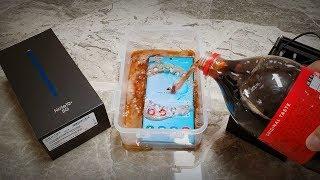 [ENG SUB] 갤럭시노트10 콜라에 넣고 12시간 얼렸더니? 과연 켜질까?! I Galaxy Note 10 Coke Deep Freeze Test