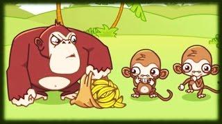 GRY O ZWIERZĘTACH | Dla dzieci | Darmowe online | Małpka i banany | #2