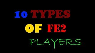 10 TYPES OF FLOOD ESCAPE 2 PLAYERS!   koenderp