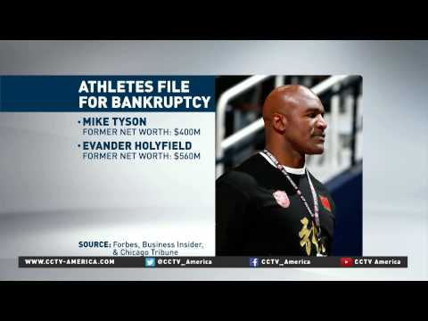 Top-earning professional athletes go bankrupt from poor investments
