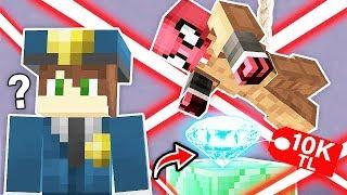FAKİR ZENGİN'in EN DEĞERLİ ELMASINI ÇALDI! 😱 - Minecraft Video