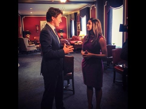 Molly Thomas - CTV Regina ML, Justin Trudeau