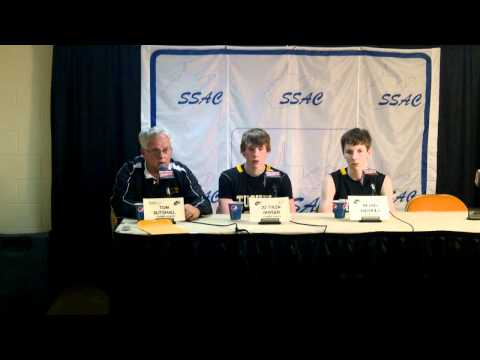 Coach Gutshall State Tournament Postgame - Midland Trail