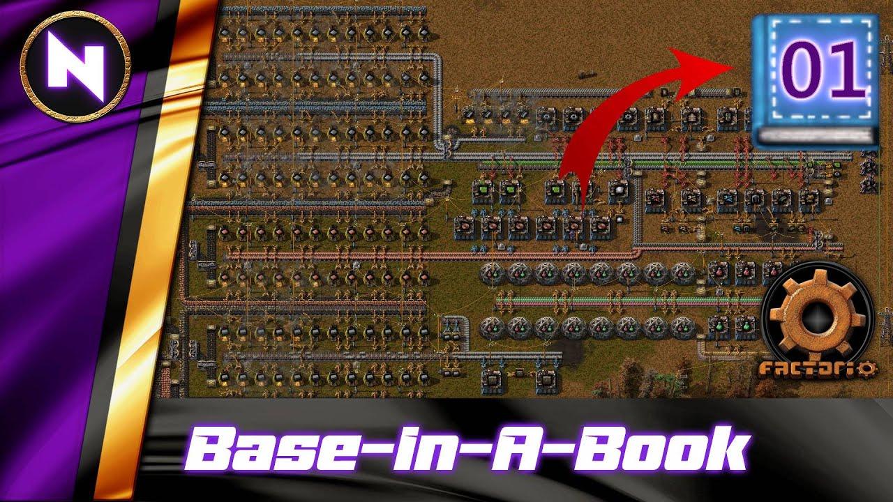 Download Base-In-A-Book   #1   Factorio Lets Play/Walkthrough/Guide