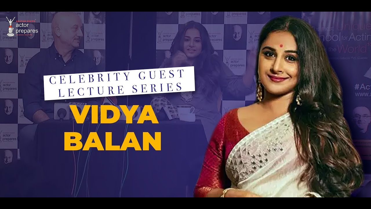 Celebrity Guest || Vidya Balan at Actor Prepares