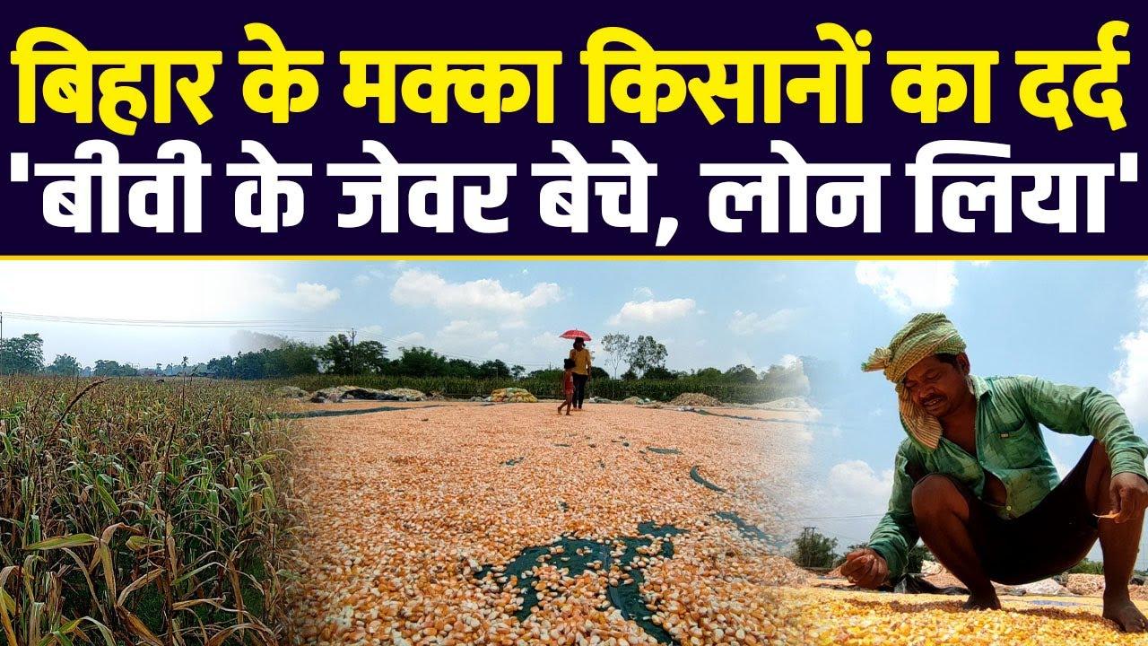 बिहार के मक्का किसानों का दर्द - 'बीवी के जेवर बेचे, लोन लिया' | Farmers Protest | Kisan Andolan