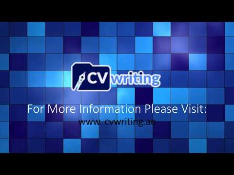 CV Writing Services In Dubai