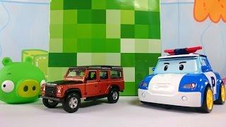 Игрушки Робокар Поли в видео для детей Волшебная Коробка