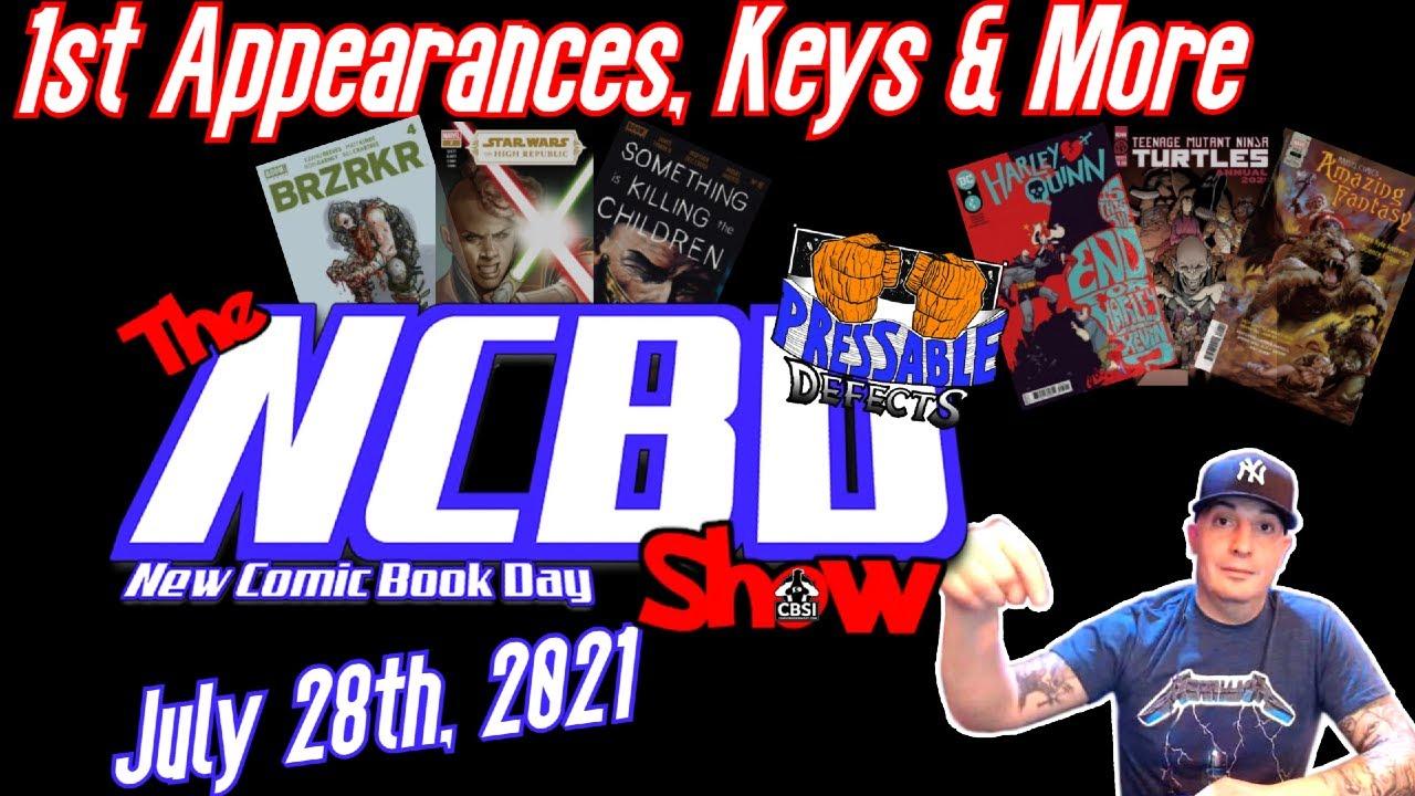 HOT NEW Comics This Week |  New Comic Book Day July 28, 2021 - CBSI NCBD Show