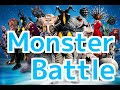 Made In Japan Toy Soft doll Ultraman Monster Battle!Videos for kids ウルトラマン怪獣ソフビ人形対決!