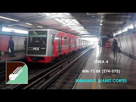 Metro CDMX - Línea 4 - Jamaica - NM-73 BR