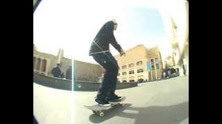 Macba Barcelona Spain, Petter Ingelhammar Macba Skatespot
